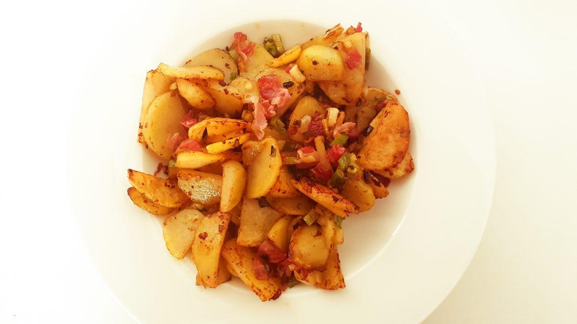 fried potatoes…in 10 Minuten