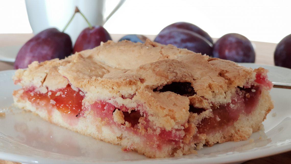 schnellster Pflaumenkuchen, glutenfrei
